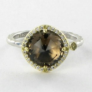 Tacori Tacori 18k925 Ring 53 Midnight Sun Pave 0.13cts Diamonds Quartz 18k 925