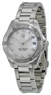 TAG Heuer TAG HEUER Aquaracer White Mother of Pearl Dial Steel Ladies Watch THWAY1313BA0915