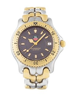 TAG Heuer Tag Heuer Men's Two-Tone Stainess Steel Gold Watch WG1120