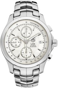 TAG Heuer Tag Heuer Stainless Steel Link Chronograph Automatic Watch CJF2111