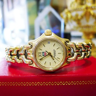 TAG Heuer Tag Heuer Professional 200 Quartz Date Gold Plated Ref S04.708m Womens Watch