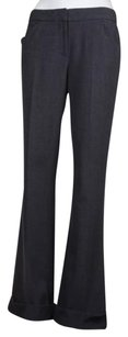 Tahari Womens Dress Trousers Casual Cuffed Polyester Blend Pants