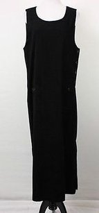 Black Maxi Dress by Talbots Womens Maxi