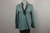 Talbots Womens Petites Teal Sweater