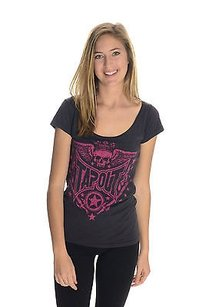 Tapout Mma Womens Grey Jersey T Shirt Gray