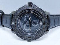 Techno Com by KC Mens Techno Com Kc Jojo Jojino Joe Rodeo Icy Black Diamond Watch Mm 0.25 Ct