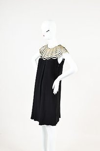 Temperley London short dress Black Gold on Tradesy