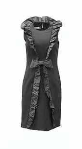 Teri Jon Ruffle Trim Dress