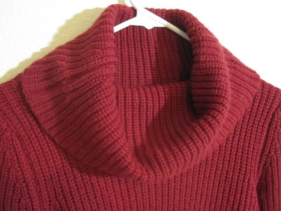 The Limited Cowl Neck Knit Longsleeve Acrylic Machine Washable Sweater