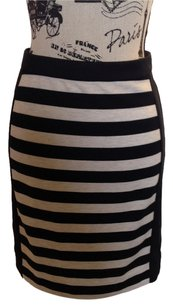 The Limited Skirt Black/Taupe