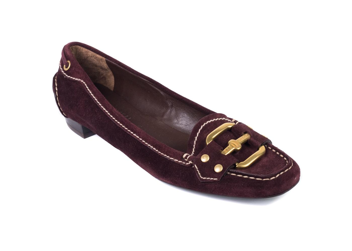 CAR SHOE Leather Flats vUisaygO