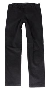 The Row Black Cotton Leggings Pants