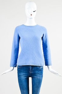 The Row Periwinkle Knit Sweater