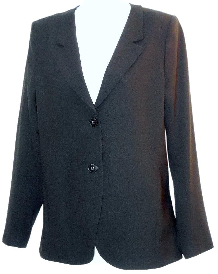 on sale Theory Stretch Wool Black Blazer