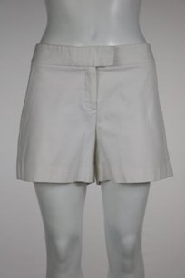 Theory Womens Casual Shorts White