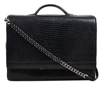 Theory Theyskens Lizard Shoulder Bag