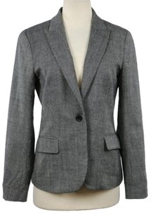 Theory Theory Womens Black Blazer Long Sleeve Wool Career Basic Jacket