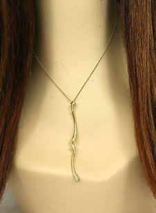 Tiffany & Co. Designer Tiffany Co. Elsa Peretti 18k Gold 80 Pts. Diamonds Dress Necklace