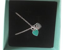 Tiffany & Co. Mini double heart tag pendant