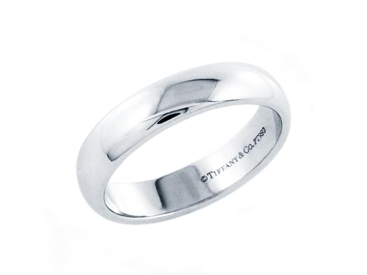 Tiffany Co Platinum 950 Las Wedding Band Ring