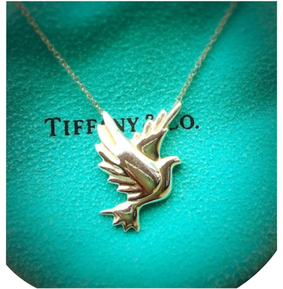 Tiffany & Co. Rare Dove Paloma Picasso Necklace