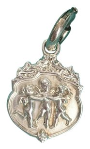 Tiffany & Co. RARE HTF Tiffany & Co Silver Cherub Olympian Joy Charm w/ Spring Ring Clasp BOX POUCH!!
