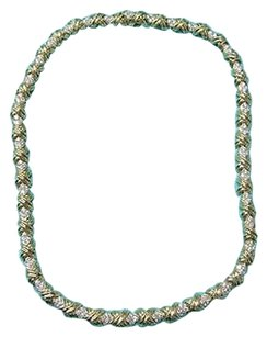 Tiffany & Co. Tiffany,Co,18kt,Signature,X,Diamond,Necklace,6.24ct