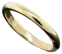 Tiffany & Co. Tiffany & Co. Jewelry 18K Yellow Gold 3mm Wide Wedding Band Ring
