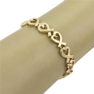 Tiffany & Co. Tiffany Co. Picasso 18k Yellow Gold Loving Heart Links Bracelet
