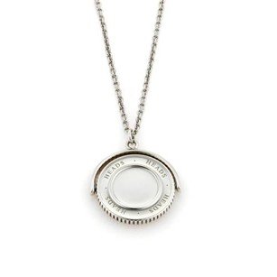 Tiffany & Co. Tiffany Co. Sterling Silver Heads Tail Flip Coin Pendant Necklace