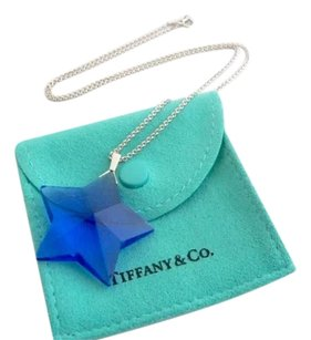 Tiffany & Co. Tiffany & Co Large Blue Star Necklace