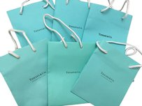 Tiffany & Co. Tiffany & Co LOT of gift bags, cards, and receipt envelopes