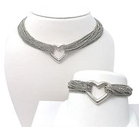 Tiffany & Co. Tiffany & Co. multi strand toggle heart necklace and bracelet set