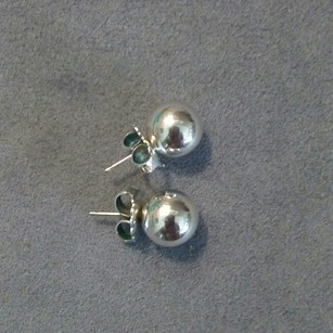 Tiffany & Co. Tiffany & Co. Sterling Silver 10mm Bead Studs