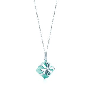 Tiffany & Co. Tiffany Blue Box Charm Necklace