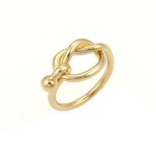 Tiffany & Co. Tiffany Co. 18k Yellow Gold Love Knot Ring