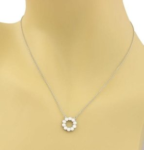 Tiffany & Co. Tiffany Co. Circle Jazz 0.52ct Diamond Platinum Necklace