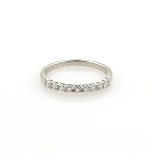 Tiffany & Co. Tiffany Co. Platinum Shared Setting Diamonds Wedding Band Ret