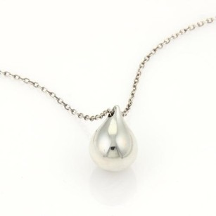 Tiffany & Co. Tiffany Co. Solid Sterling Silver Boxer Ball Pendant Necklace
