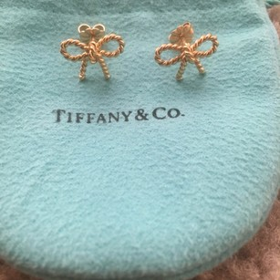 Tiffany & Co. Tiffany Twist Bow Earrings