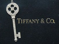Tiffany & Co. Tiffany,Co,Platinum,Diamond,Pendant,Necklace,.45ct,20