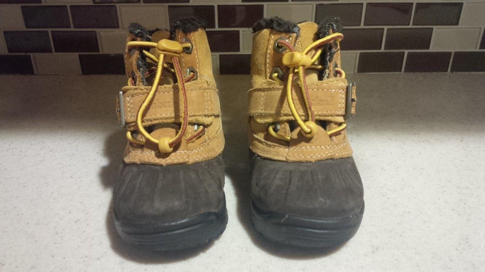 Clothing, Shoes & Accessories Flight Tracker Genuine Toddler Timberlands Size Us7 Kids' Clothing, Shoes & Accs