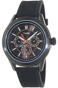 Timex Timex Silicone Chronograph Mens Watch T2p179