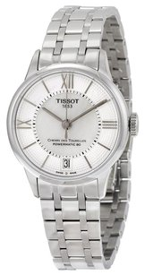 Tissot TISSOT Chemin Des Tourelles Powermatic 80 Silver and Mother of Pearl Dial Stainless Steel Ladies Watch TIST0992071111800