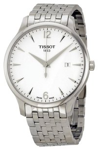 Tissot TISSOT Tradition Silver Dial Stainless Steel Men's Watch TIST0636101103700