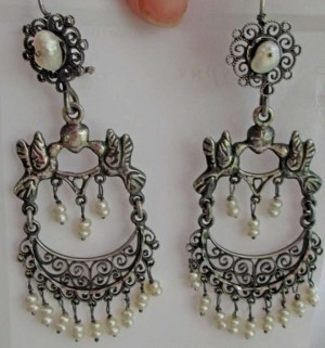 Mexican Wedding Earrings 25% Off #189714