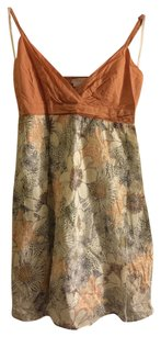 To the Max short dress Peach/Multi on Tradesy