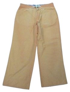 Toad&Co Capri/Cropped Pants Orange