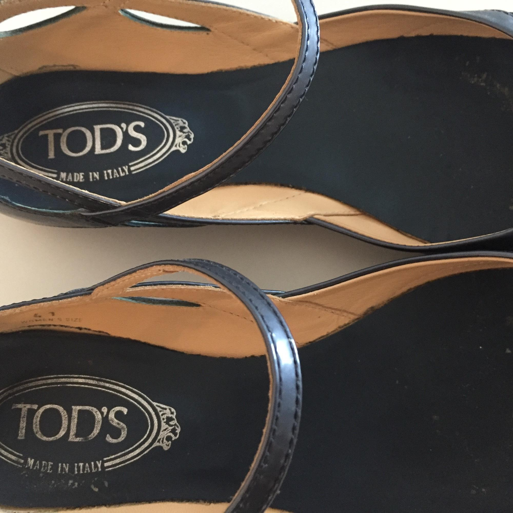 tod & # 039; s bleu taille 10 10 taille apparteHommes ts ordinaires (brevets, b) 5a7645