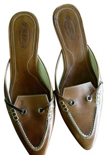 Tod's Brown Mules